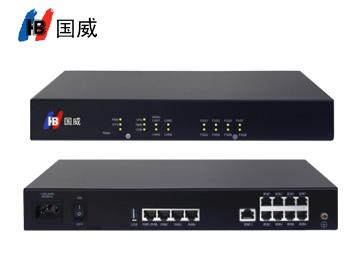 國威HB100-8FXS語音網關